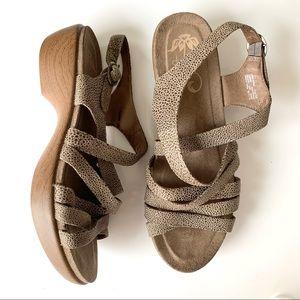 DANSKO Buckle Ankle Strap Sandals